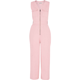 Whistles Nettie Utility Jumpsuit - Pink