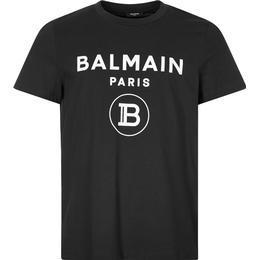 Balmain Flock T-shirt - Black
