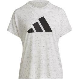 Adidas Winners 2.0 T-shirt Women - White Melange