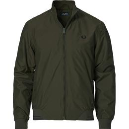 Fred Perry Padded Brentham Jacket - Hunting Green