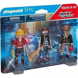 Playmobil Thief Figure Set 70670