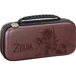 Bigben Nintendo Switch Deluxe Travel Case - The Legend of Zelda - Brown