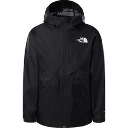 The North Face Boy's Zipline Rain Jacket - TNF Black (NF0A53C4)