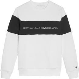 Calvin Klein Colour Block Sweatshirt - Bright White (IB0IB00812)