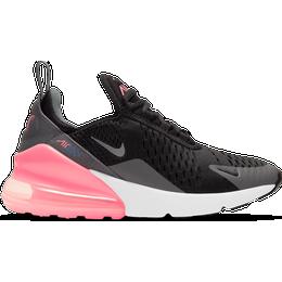 Nike Air Max 270 GS - Black/Smoke Grey/Sunset Pulse/Metallic Silver