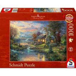 Schmidt Spiele Thomas Kinkade in the Natural Paradise 1000 Pieces