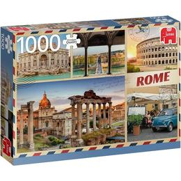 Jumbo Premium Collection Greetings from Rome 1000 Pieces
