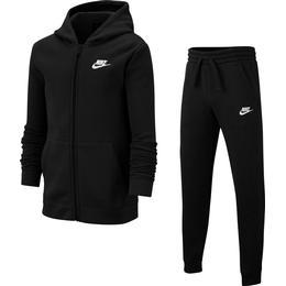 Nike Tracksuit Boys - Black/White