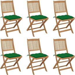 vidaXL 3065508 6-pack Armless Chair