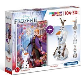 Clementoni Supercolor Disney Frozen 2 104 Pieces