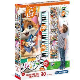 Clementoni Measure Me 44 Cats 30 Pieces