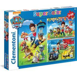 Clementoni Paw Patrol 3x48 Pieces