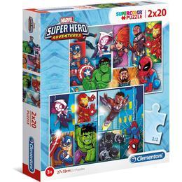 Clementoni Super Color Marvel Super Heroes 2x20