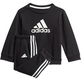 Adidas Infant's Badge of Sport French Terry Jogger - Black/White (GM8977)