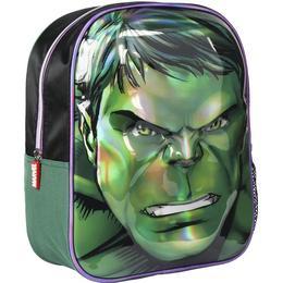 Cerda 3D Premium Avengers Hulk Backpack - Black/Green