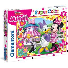 Clementoni Supercolor Disney Junior Minnie 104 Pieces