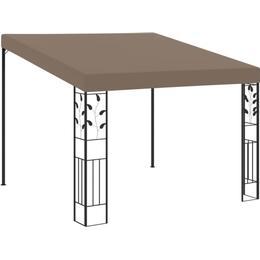 vidaXL Wall-mounted Pavilion 3x3m