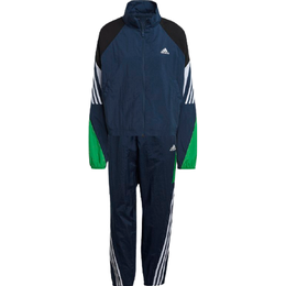 Adidas Game-time Woven Tracksuit Women - Crew Navy/Crew Red/White