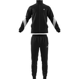 Adidas Cotton Tracksuit Men - Black/White