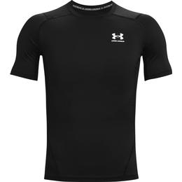 Under Armour HeatGear Armour Short Sleeve T-shirt Men - Black