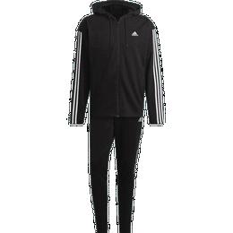 Adidas Sportswear Ribbed Insert Tracksuit Men - Black