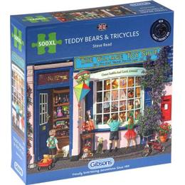 Gibsons Teddy Bears & Tricycles XXL 500 Pieces