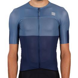 Sportful Bodyfit Pro Light Jersey Men - Blue/Blue Sea