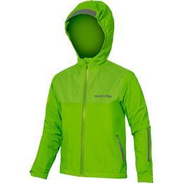 Endura Kid's MT500JR Waterproof Jacket - Hi-Viz Green (12924403)