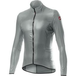 Castelli Aria Shell Jacket Men - Silver Gray