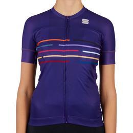 Sportful Velodrome Short Sleeve Jersey Women - Violet