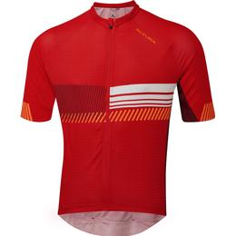 Altura Club Cycling Jersey Men - Red/Maroon