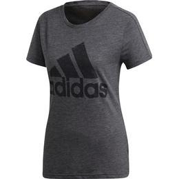 Adidas Must Haves Winners T-shirt Women - Black Melange