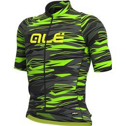 Alé Graphics PRR Short Sleeve Jersey Men - Black/Fluro Green