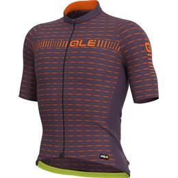 Alé Green Road Short Sleeve Jersey Men - Orange/Purple