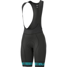 Alé Graphics PRR Strada Bib Shorts Women - Black/Turquoise