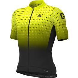 Alé PR-S Bullet Short Sleeve Jersey Men - Fluo Yellow/Black