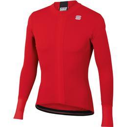 Sportful Strike Long Sleeve Jersey Men - Red/Black