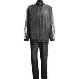 Adidas Aeroready Essentials Regular-Fit 3-Stripes Tracksuit Men - Black/White