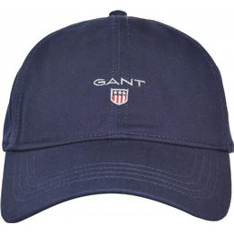 Gant High Cotton Twill Cap - Marine