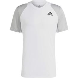 Adidas Club T-shirt Men - White/Grey Two/Black