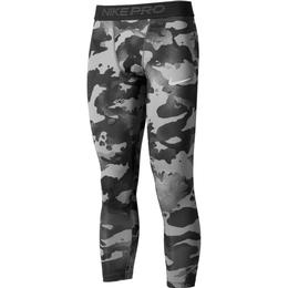 Nike Pro 3/4 Camo Leggings Men - Smoke Grey/Grey Fog