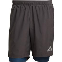 Adidas Own the Run Two-in-One Shorts Men - Dgh Solid Grey