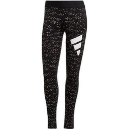 Adidas Sportswear Allover Print Leggings Women - Black
