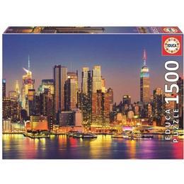 Educa Manhattan at Night 1500 Pieces