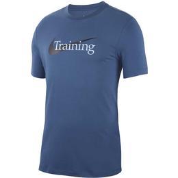 Nike Dri-Fit T-shirt Men - Marine/White