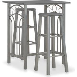 vidaXL 284397 Bar Group, 1 Table inkcl. 2 Chairs
