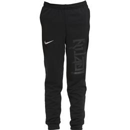Nike Dri-Fit Kylian Mbappé Knit Football Pants Kids - Black