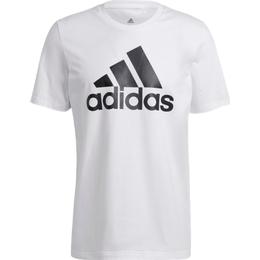 Adidas Essentials Big Logo T-shirt Men - White/Black