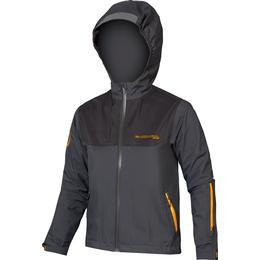 Endura Kid's MT500JR Waterproof Jacket - Grey (12924403)