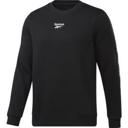 Reebok Training Essentials Tape Crew Sweatshirt Men - Black